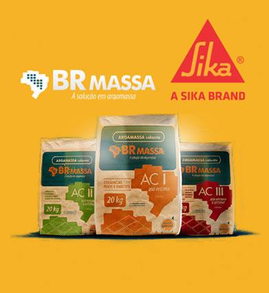 BR Massa - A solução em argamassa