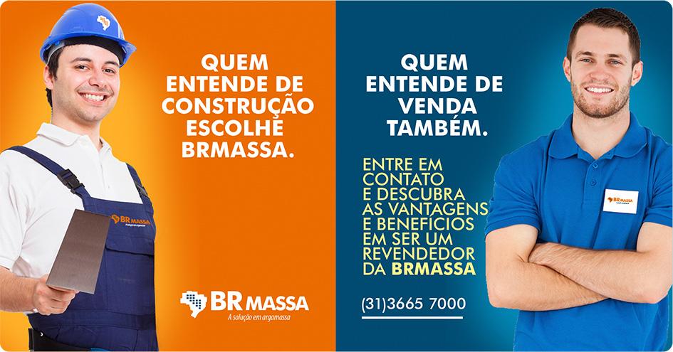 Quem entende de construção escolhe BR Massa. Quem entende de venda, também. Entre em contato e descubra as vantagens e benefícios em ser um revendedor da BRMASSA. (31) 3665-7000